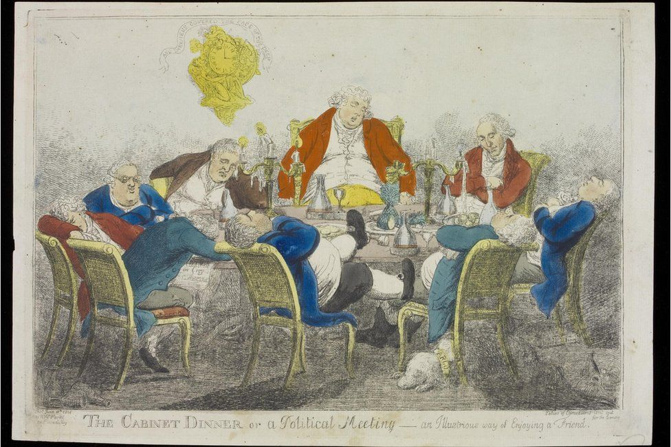 The Cabinet Dinner, or a Political Meeting