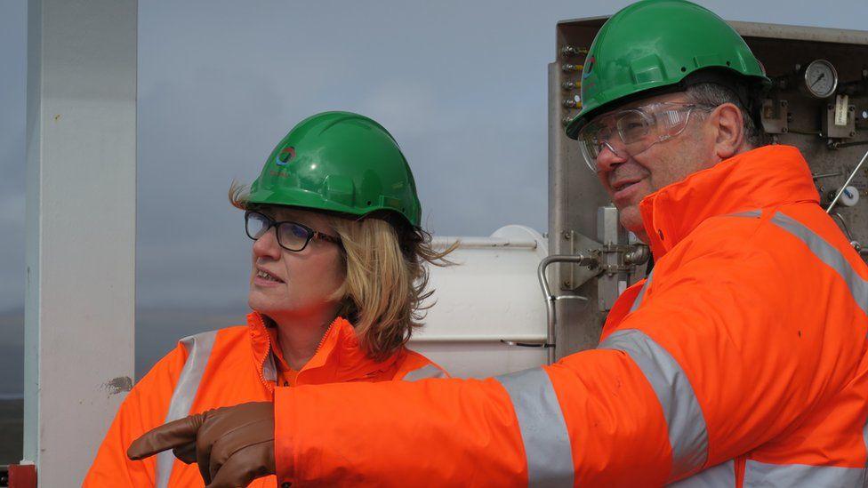 Amber Rudd and Patrick Pouyanne
