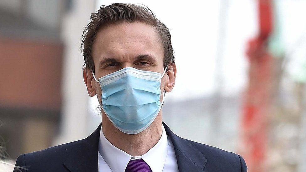 Dr Christian Jessen wearing a mask