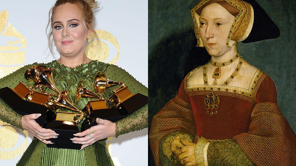 Adele and Jane Seymour