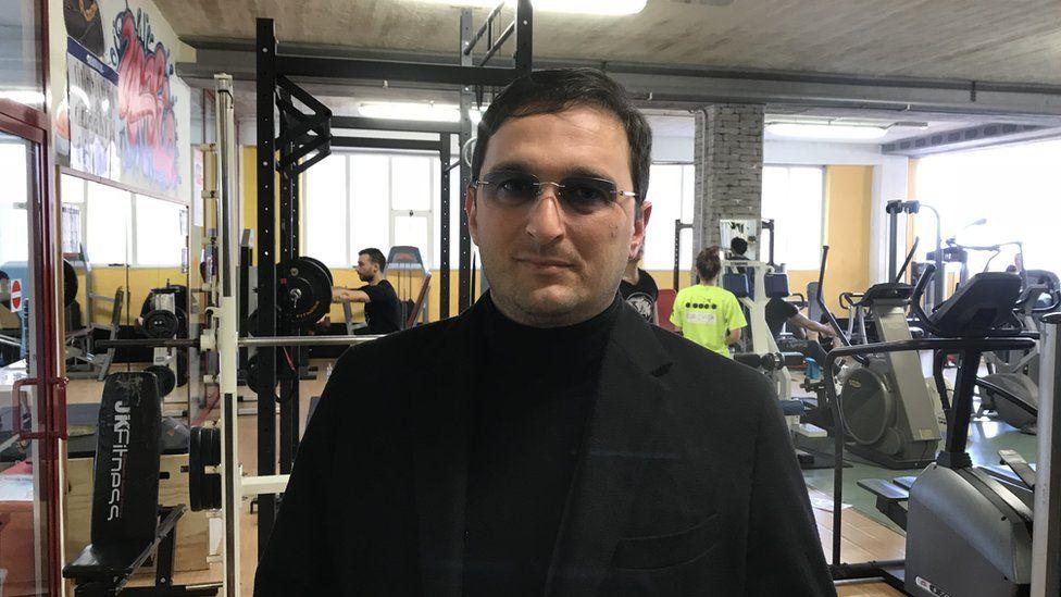 Gym owner Francesco Clerico