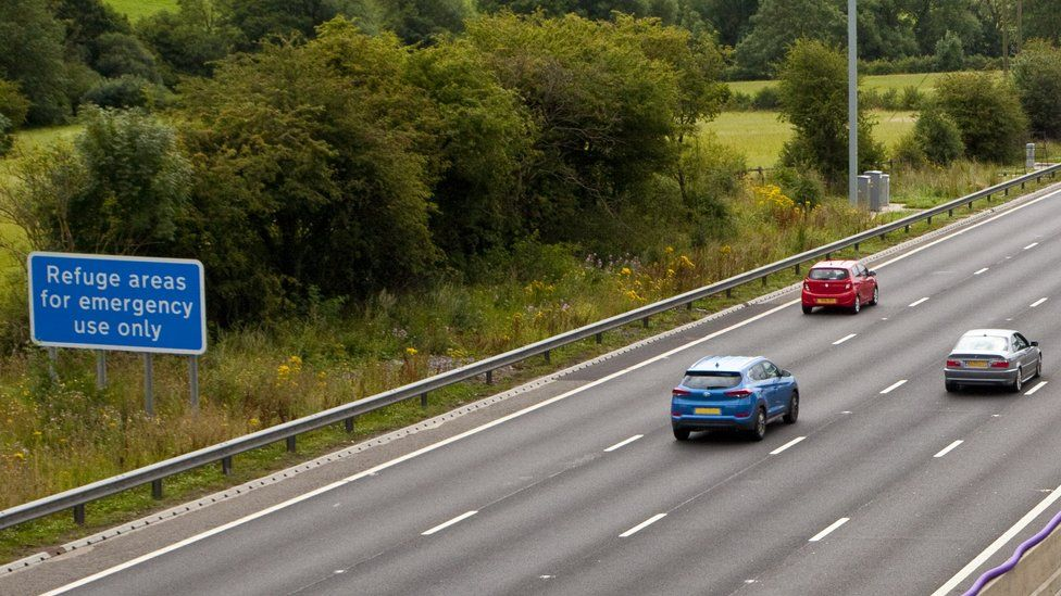 A smart motorway in West Yorkshire (file photo)