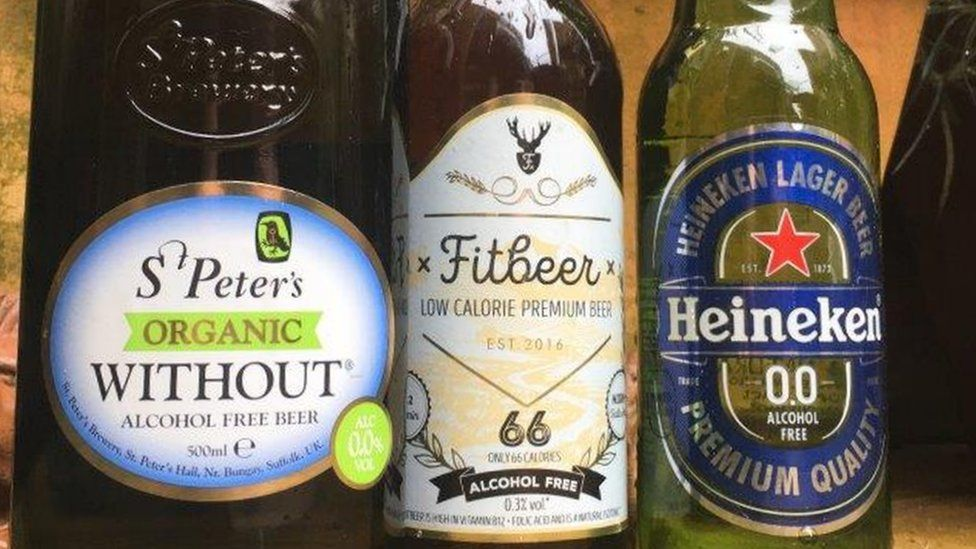 Alcohol-free beers