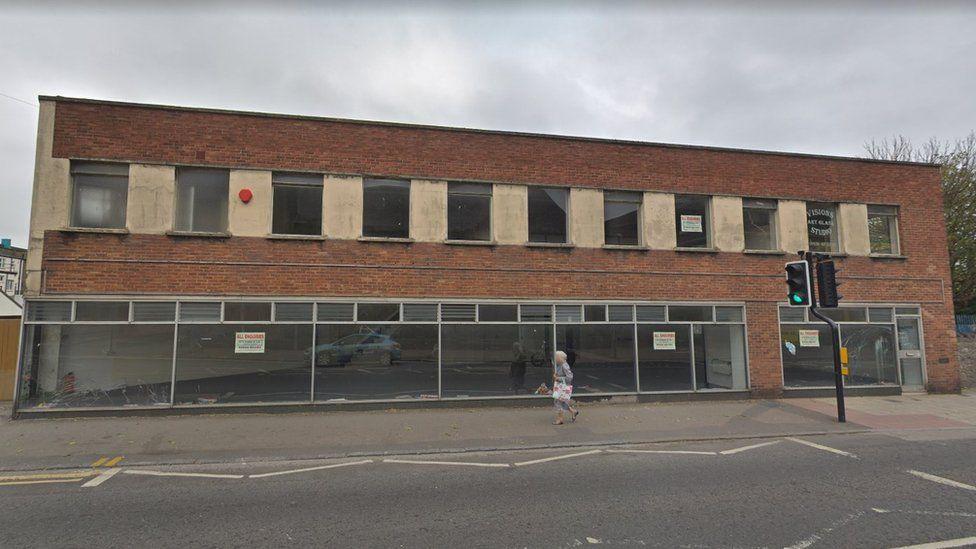 Station Road building, Weston-super-Mare
