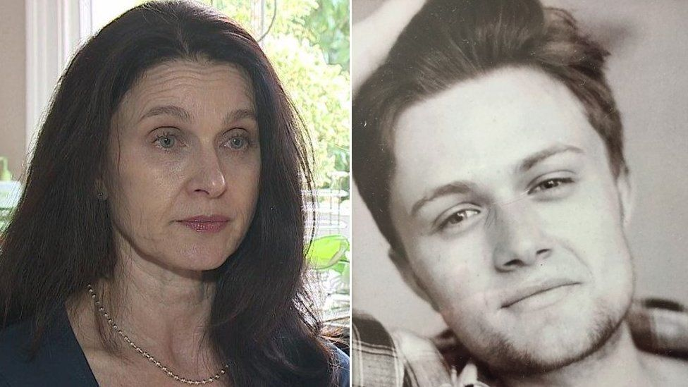 Pippa Travis-Williams and her son Henry Curtis-Williams