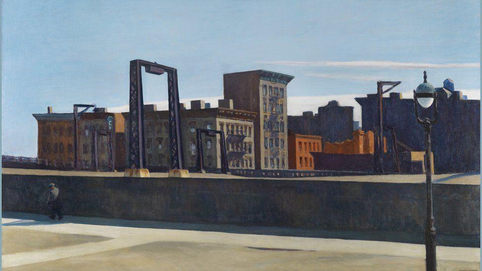 Manhattan Bridge Loop by Edward Hopper
