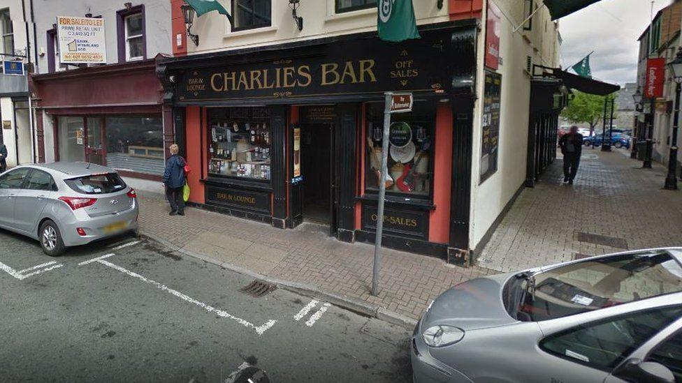 Charlie's Bar in Enniskillen, County Fermanagh