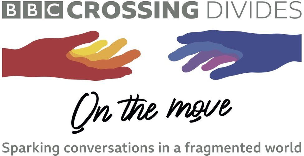 Crossing Divides On the Move logo