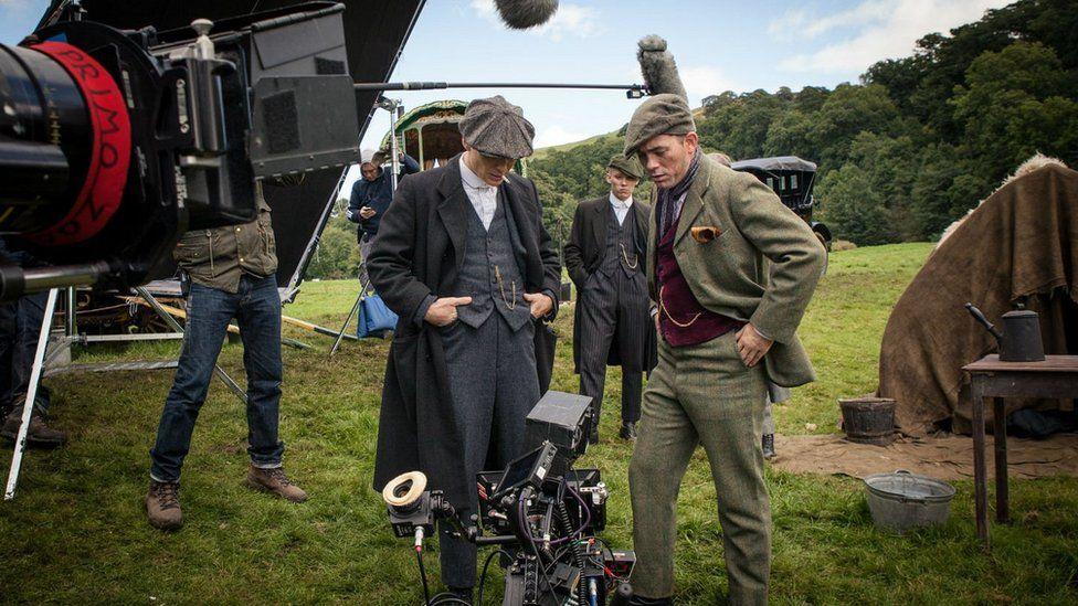 Filming of Peaky Blinders
