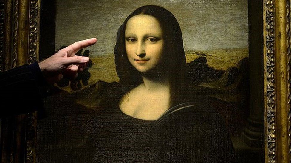 The Earlier Mona Lisa painting unveiled by the Mona Lisa Foundation in Geneva, Switzerland