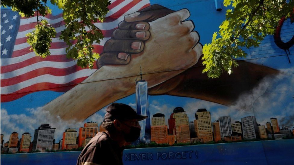 9/11 anniversary: Biden calls for unity as US prepares to mark attacks thumbnail