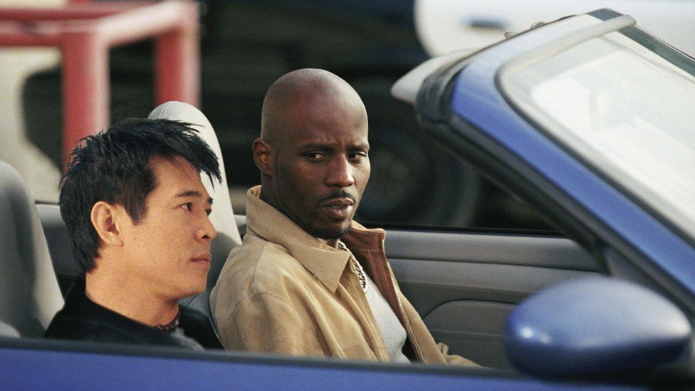 DMX and Jet Li in the 2003 movie Cradle 2 The Grave