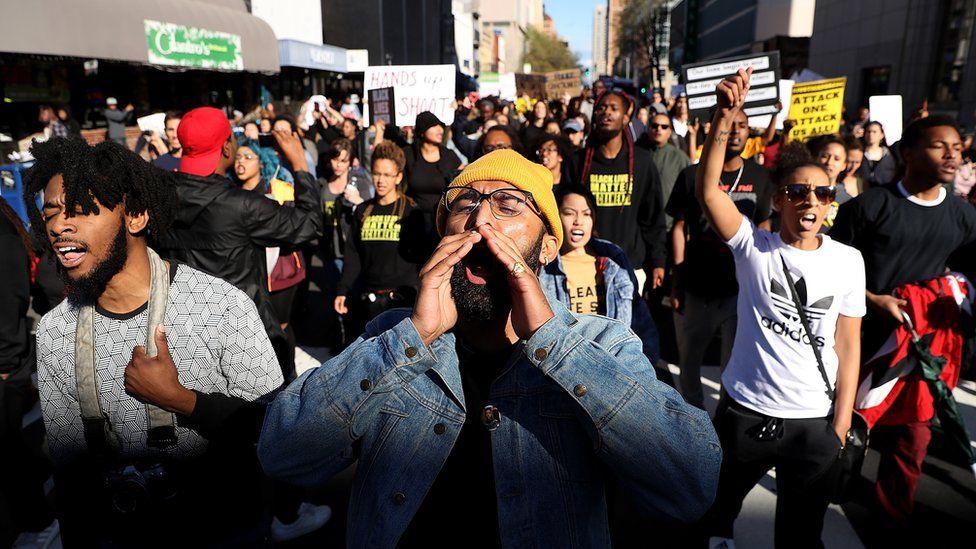 Sacramento demonstrators