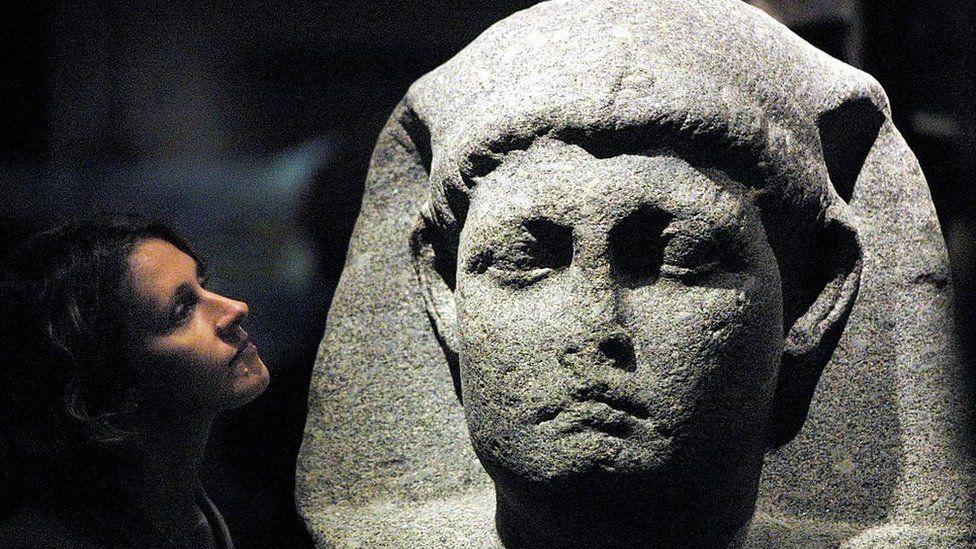 Head of Cleopatra