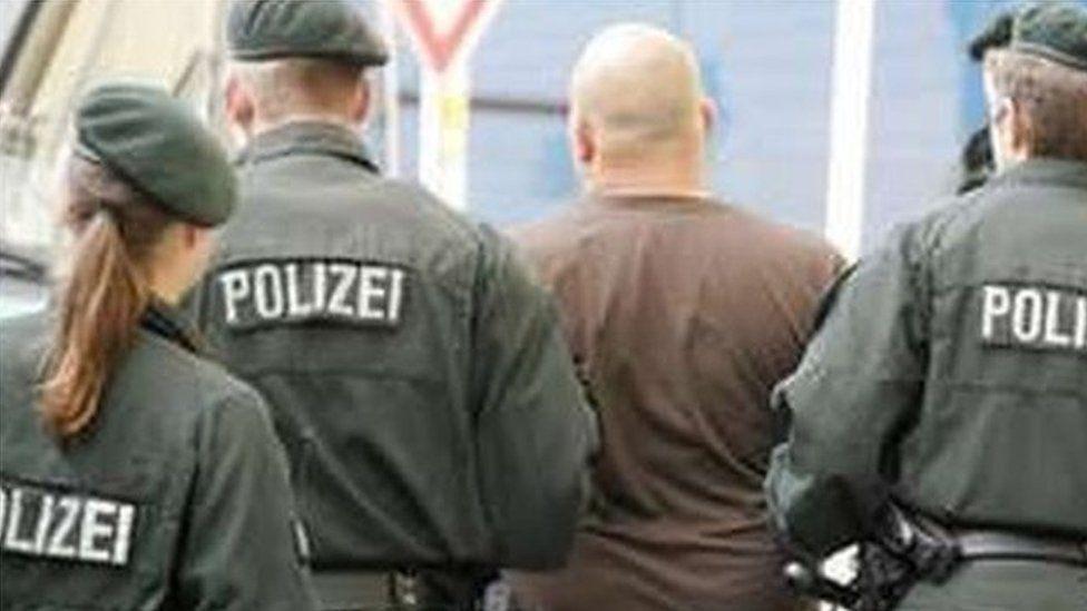 Germany arrest - June 08