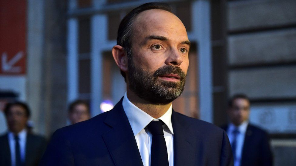 France's newly appointed Prime Minister Edouard Philippe on 15 May 2017 - the day he was named as prime minister