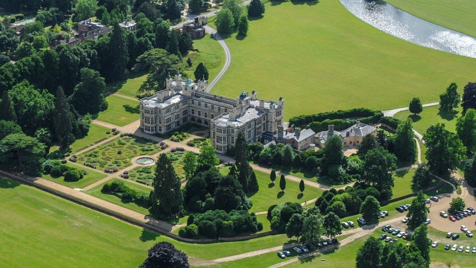 Audley End house aerial