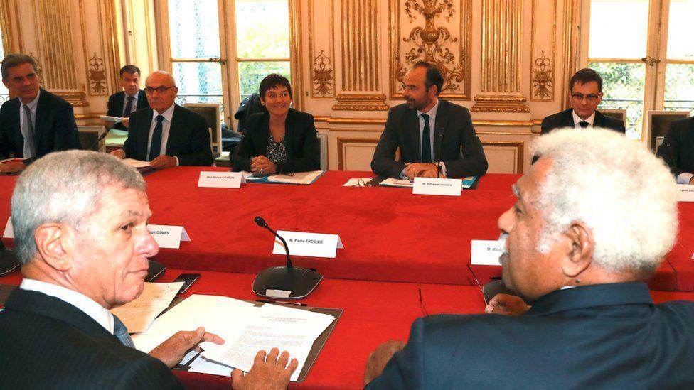 New Caledonia talks in Paris, 2 Nov 17