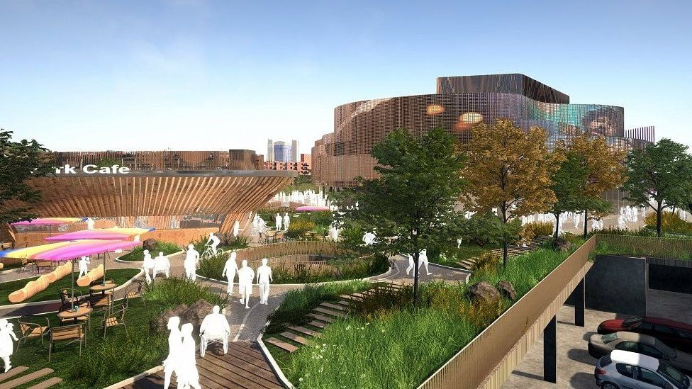 Swansea City and Waterfront Digital District project plans include a 3,500-seat digital indoor arena