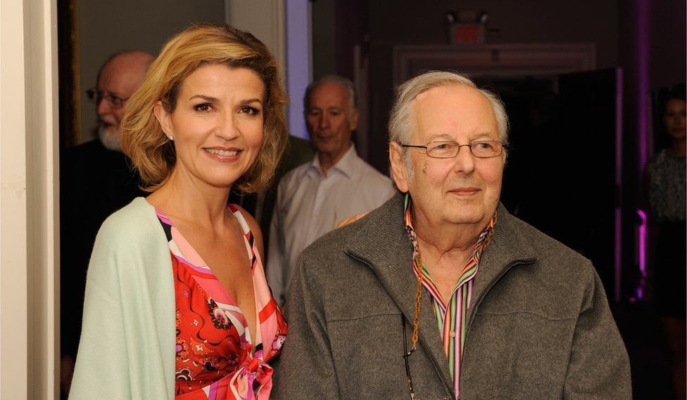 André Previn and Anne-Sophie Mutter