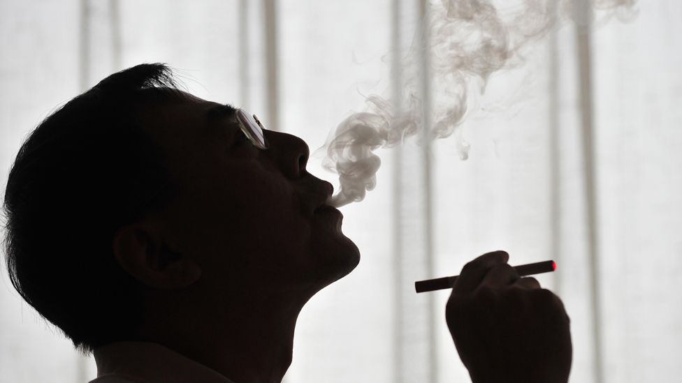 File picture taken on May 25, 2009 in Beiijng shows the inventor of the electronic cigarette, Hon Lik