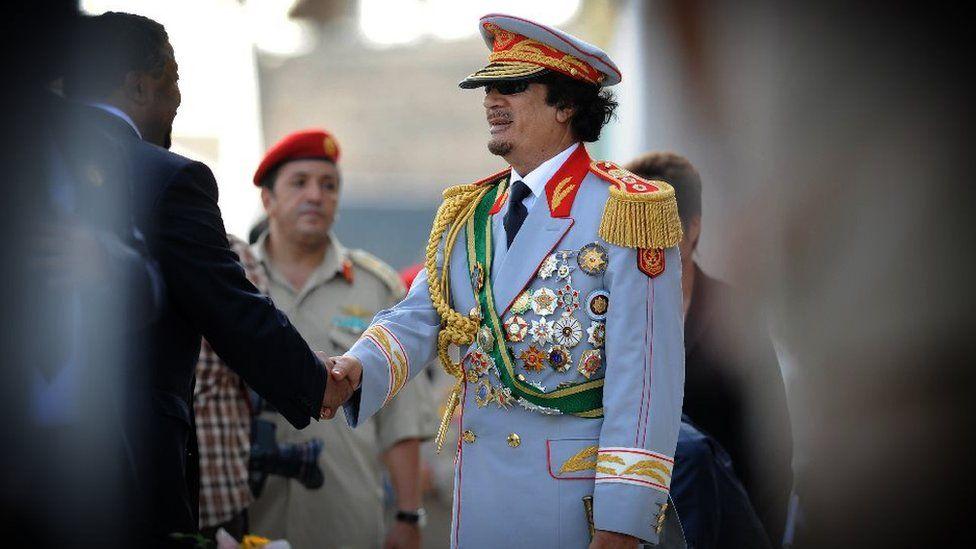 Picture of Col Muammar Gaddafi