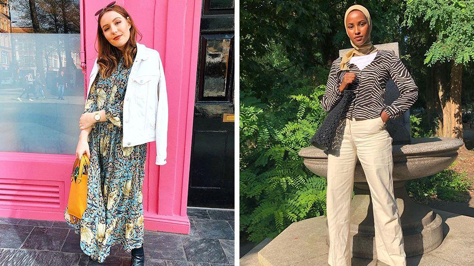 Bloggers wearing modest fashion