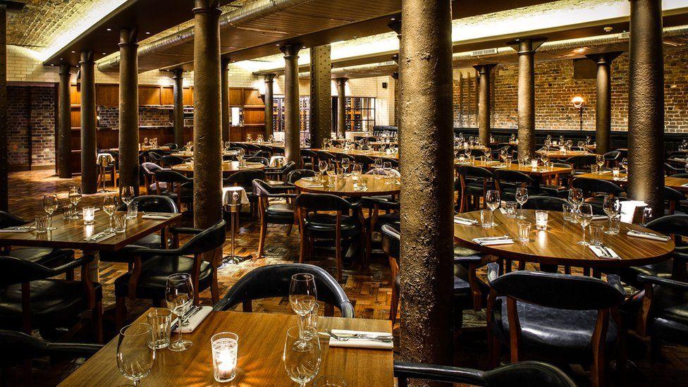 Hawksmoor restaurant in Covent Garden's Seven Dials