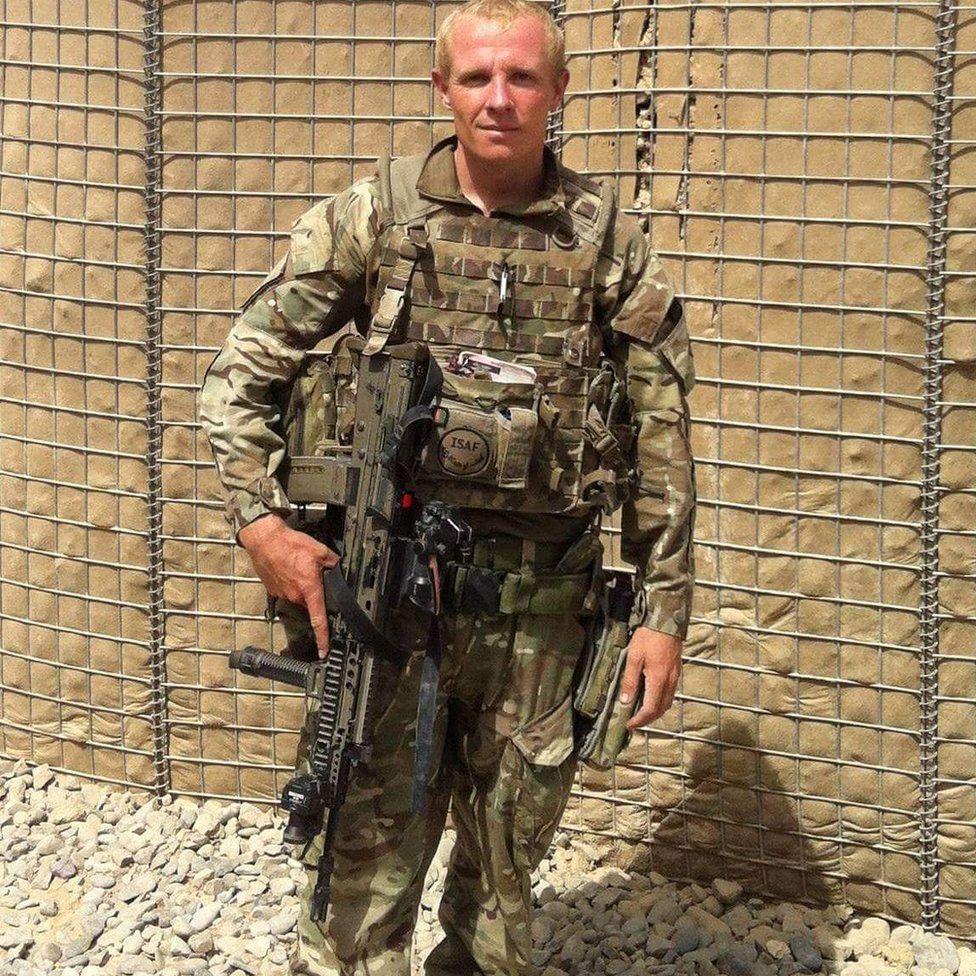 Johnathon Wilson served in Afghanistan in 2013