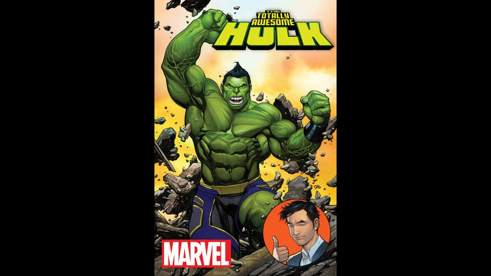 The cover of The Totally Awesome Hulk