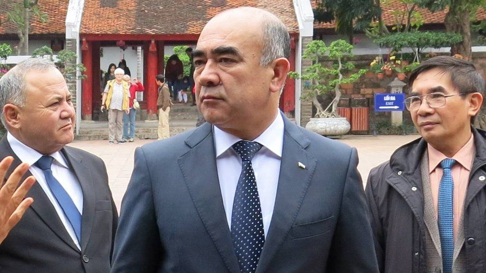 Zoyir Mirzayev seen on a 2017 visit to Vietnam
