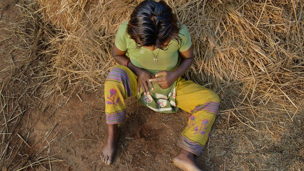 R (15) was repeatedly raped by a man from her village after she had gone to the forest to defecate