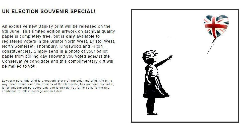 Banksy's website