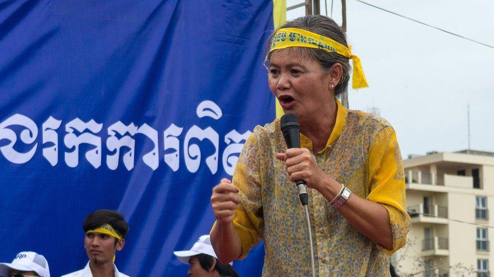 CNRP Deputy President Mu Sochua