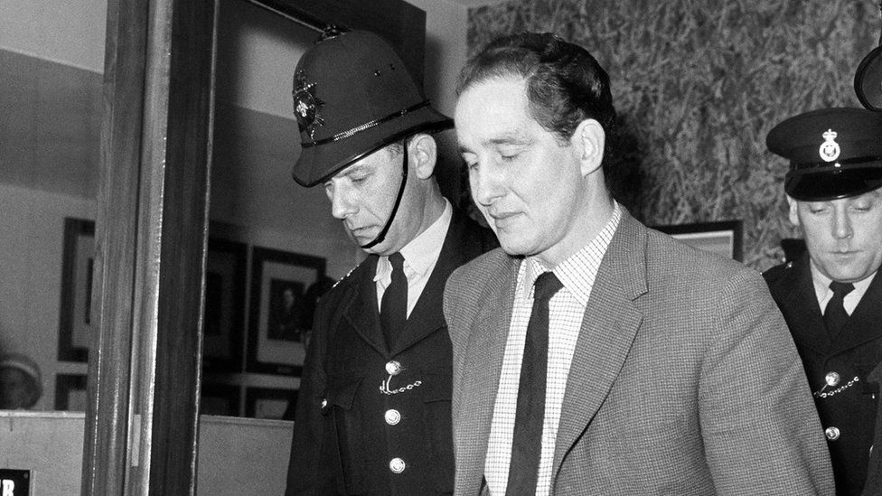 Ronnie Biggs after being sentenced in 1964