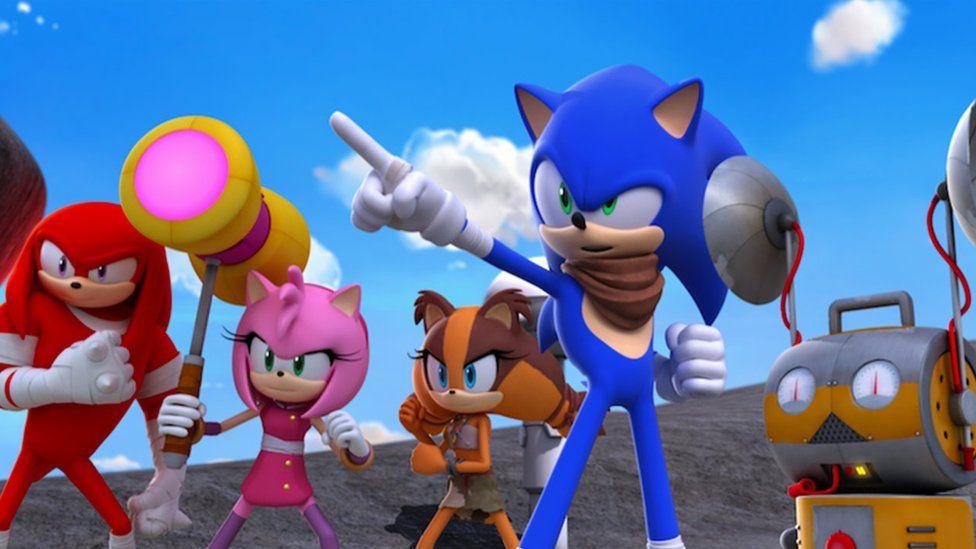 Programa de televisión Sonic Boom