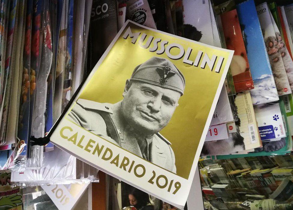 İtalya 2019'a Mussolini takvimleriyle giriyor