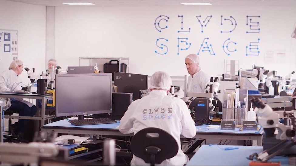 Clyde Space are specialists in making Cubesats
