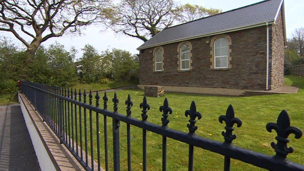 Pisgah chapel in Loughor