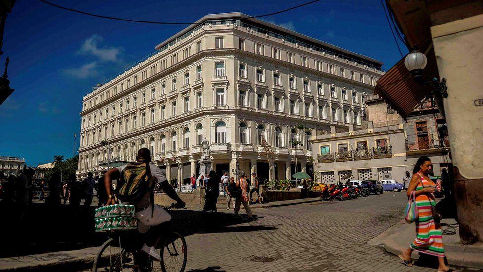 Manzana Kempinski hotel in Havana
