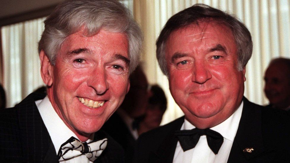 Tom O'Connor and Jimmy Tarbuck