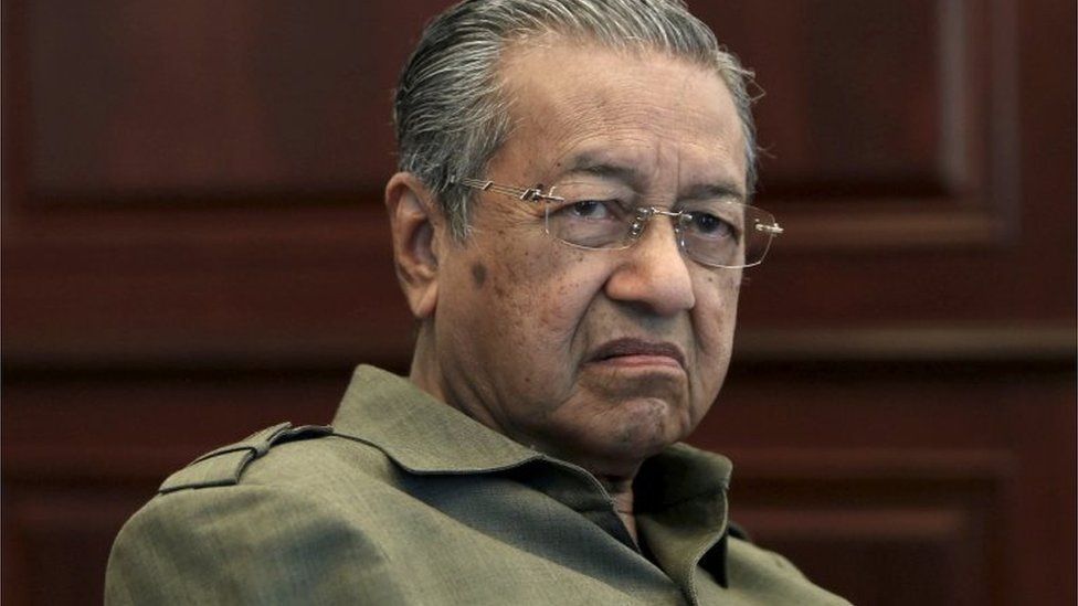 Former Malaysian prime minister Mahathir Mohamad (2013)