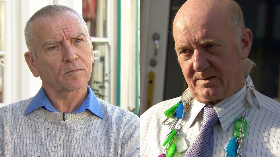 Charlie Docherty and John Bartram
