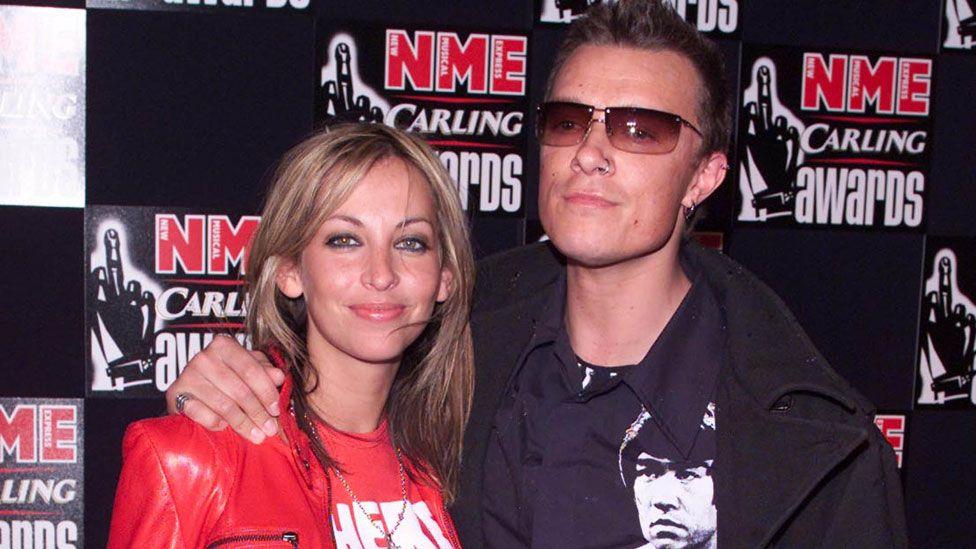Liam Howlett and Natalie Appleton