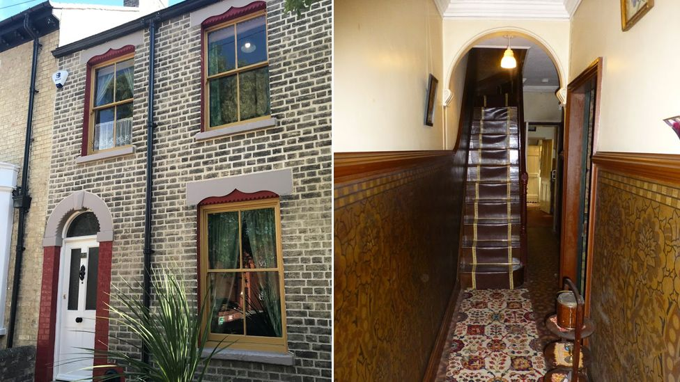 David Parr house outside and inside