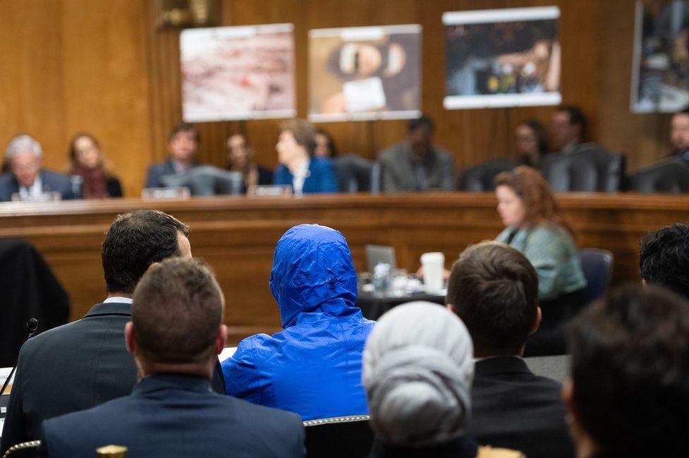"Army defector ""Caesar"" testifies about the war in Syria (Washington DC, 11 March 2020)"
