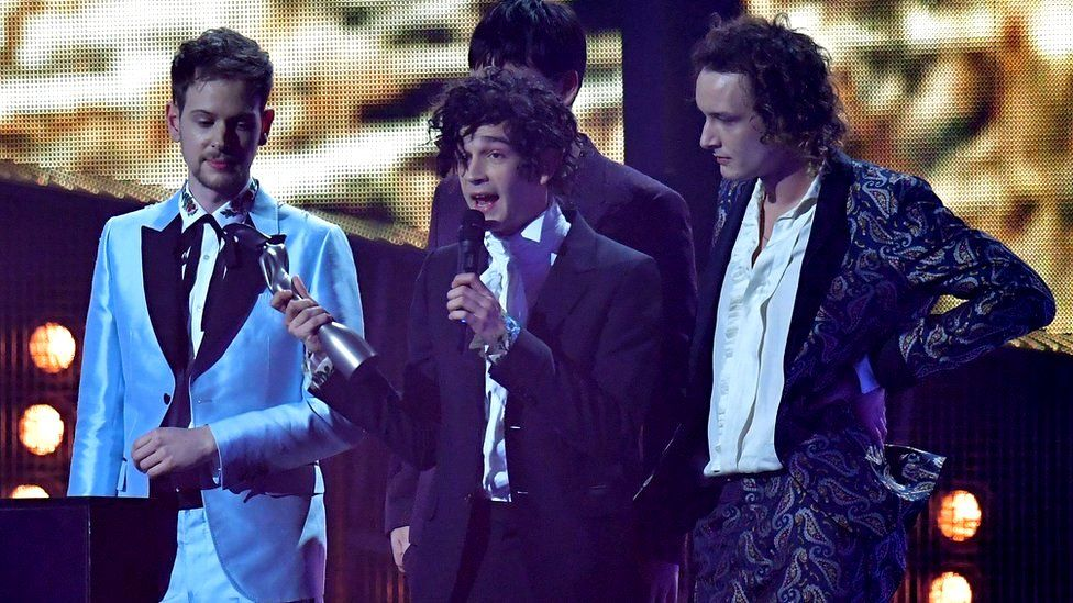The 1975 picking up best British group