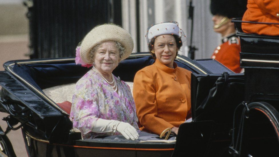 The Queen Mother and Princess Margaret in 1981