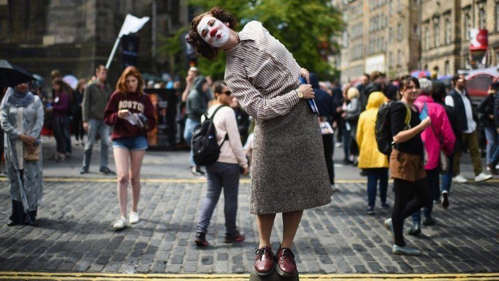 Edinburgh Festival Fringe performer