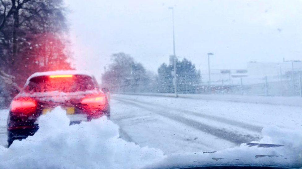 Snow in Aberdeen